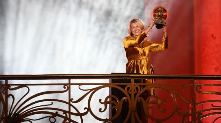 Ada Hegerberg, ganadora balón de oro 2018