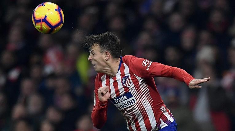 Santiago Arias fue titular con el Atlético de Madrid ante Brujas