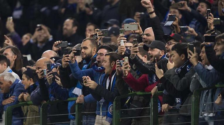 Aficionados del Inter de Milán