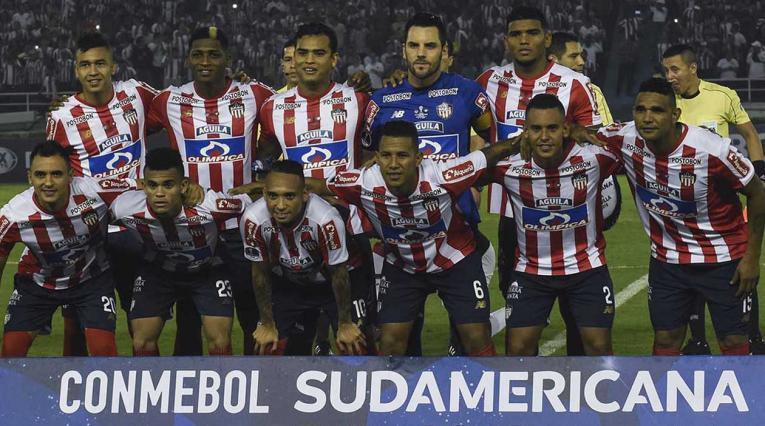 Junior, equipo formado en la Copa Sudamericana
