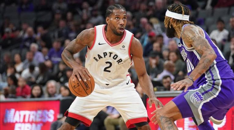 Kawhi Leonard, jugador de los Toronto Raptors