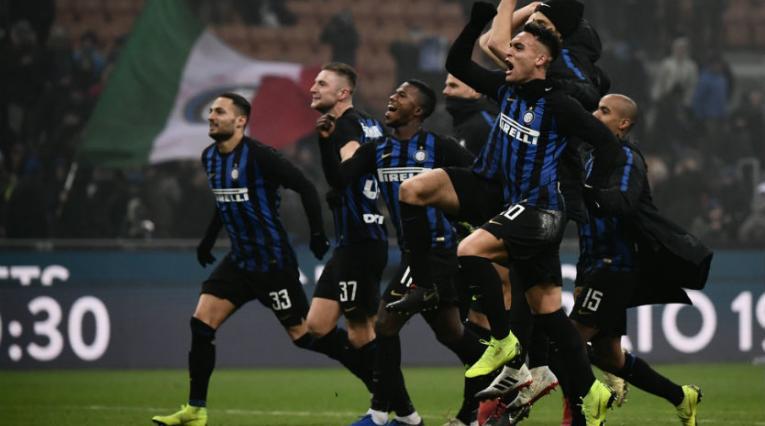 Celebración de Inter