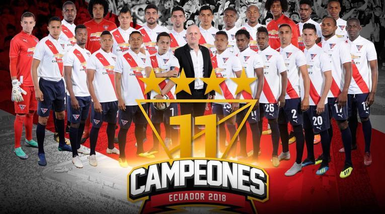Liga de Quito se coronó campeón en Ecuador por undécima vez