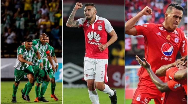 Nacional, Santa Fe y América los mejores colombianos en el ránking Conmebol