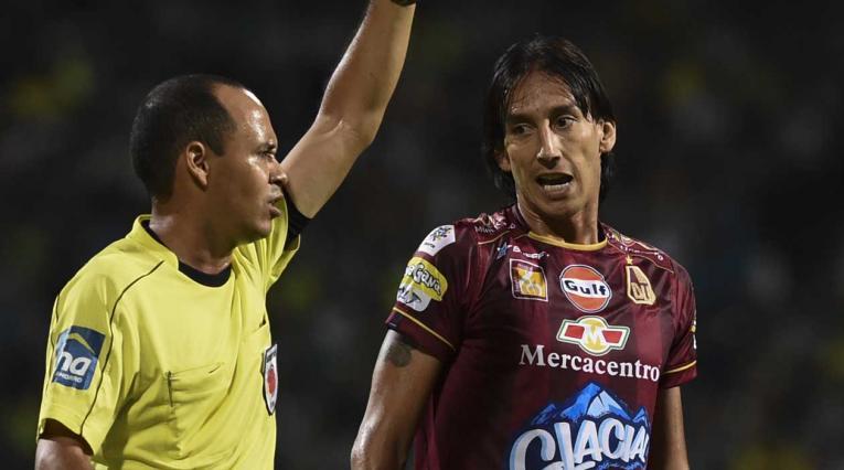 Rafael Robayo, jugador del Deportes Tolima