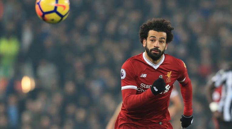 Mohamed Salah, delantero egipcio al servicio de Liverpool