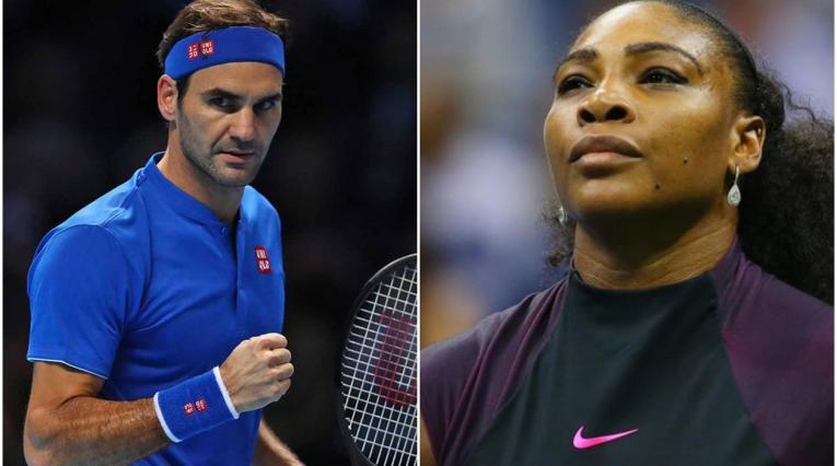 Roger Federer y Serena Williams