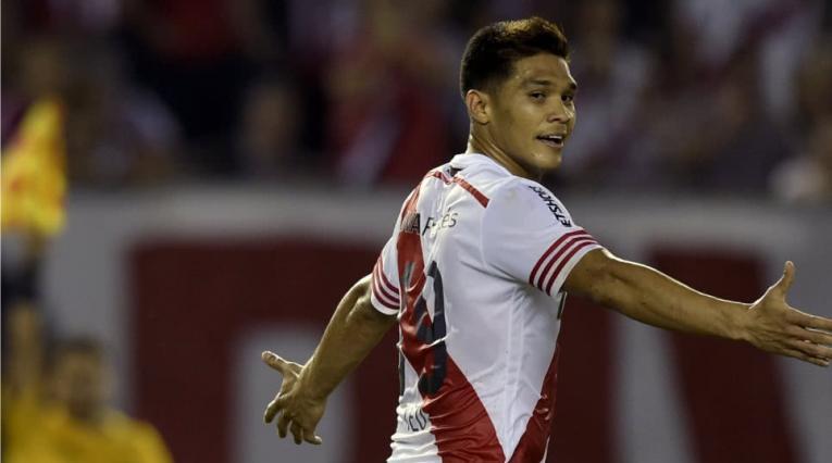 Teófilo Gutiérrez, exjugador de River Plate