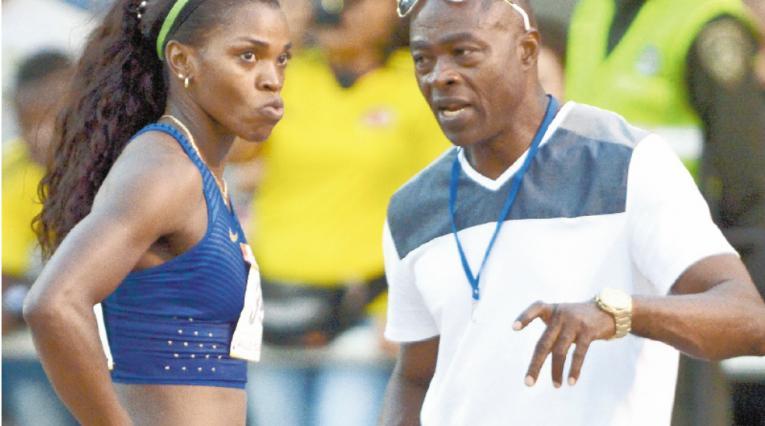 Ubaldo Duany, entrenador de Caterine Ibargüen