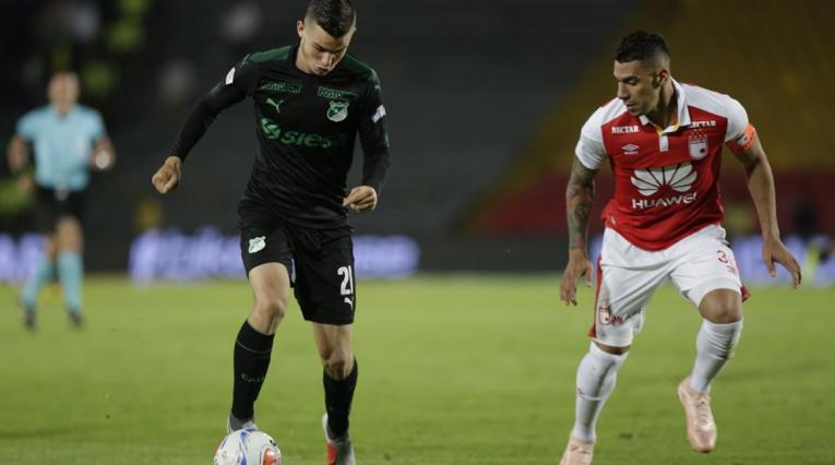 Nicolás Benedetti y Yeison Gordillo