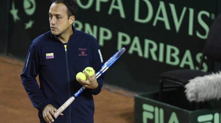 Pablo González, capitán Colombia Copa Davis