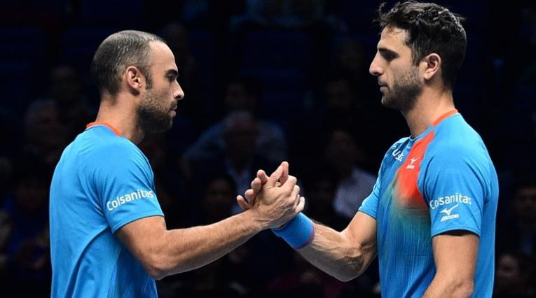 Juan Sebastián Cabal y Robert Farah, tenistas colombianos