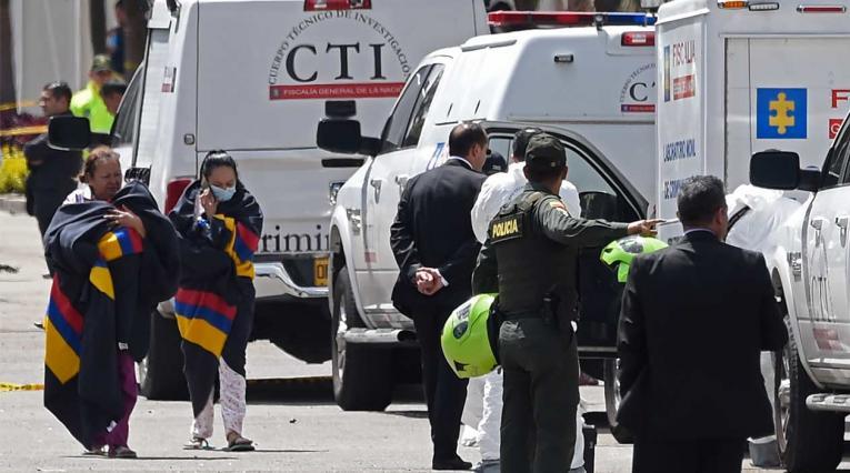 Atentados en Bogotá han dejado hasta ahora diez víctimas mortales