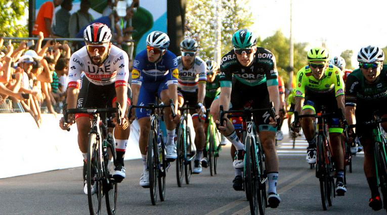 Fernando Gaviria, ciclista del UAE Emirates Team