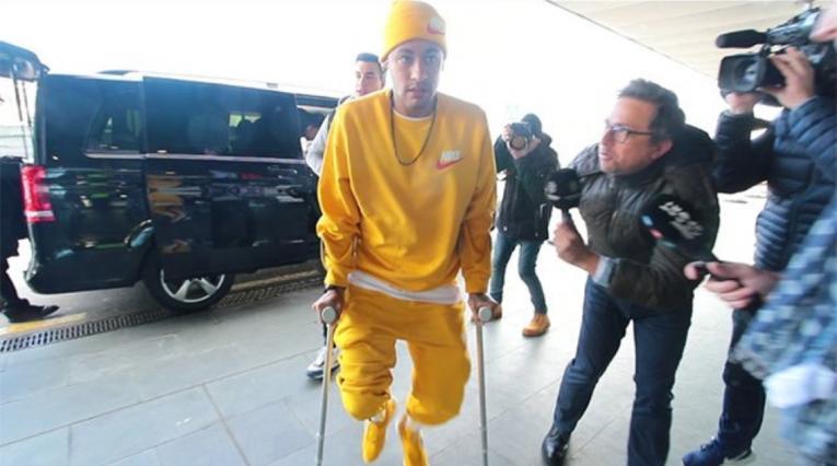 Neymar- Lesión
