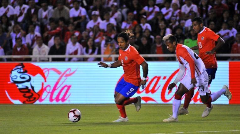 Jonathan McDonald, delantero costarricense