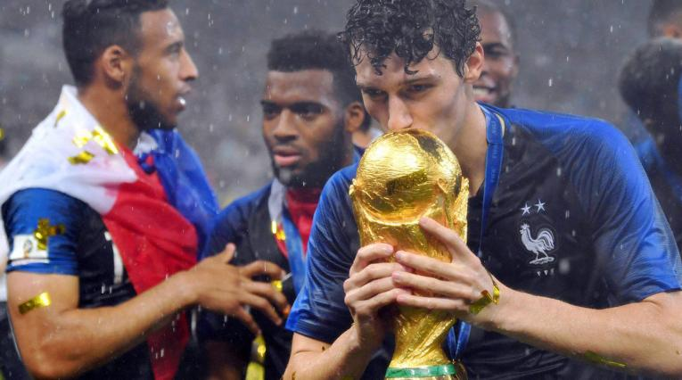 Benjamin Pavard, campeón del mundo con Francia