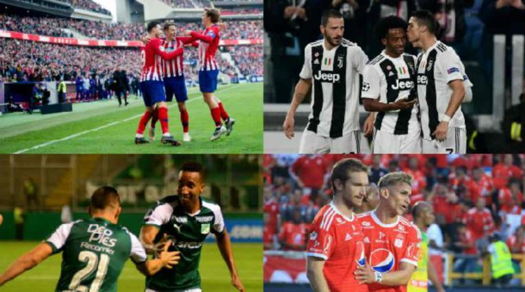 Atlético de Madrid y Juventus estarán en un cuadrangular en Cali.