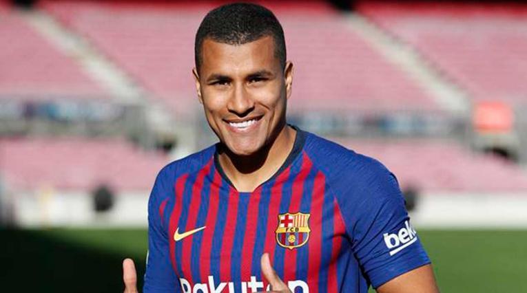 Jeison Murillo tiene contrato hasta junio de 2019 con el Barcelona