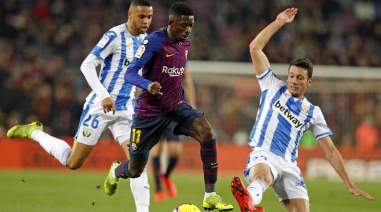 Ousmane Dembelé, jugador del Barcelona