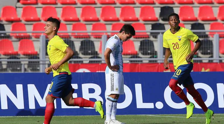 Ecuador le ganó a Argentina