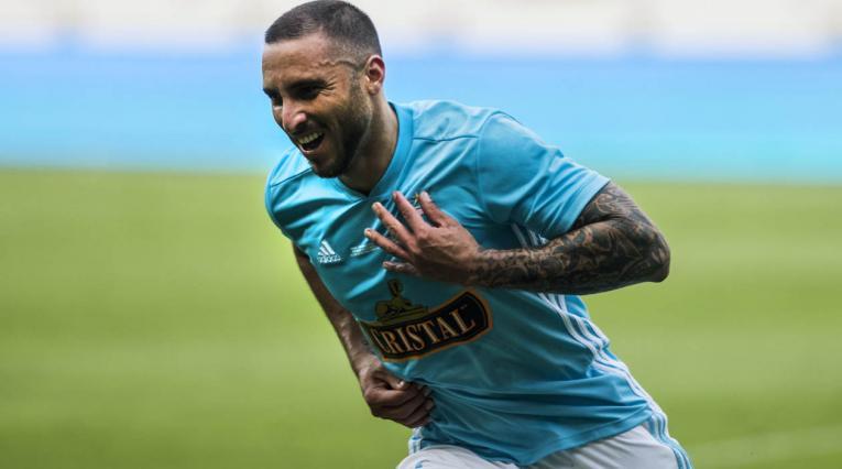 Emanuel Herrera, delantero de Sporting Cristal