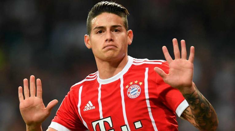 James Rodríguez seguirá en el Bayern Munich hasta junio de 2019
