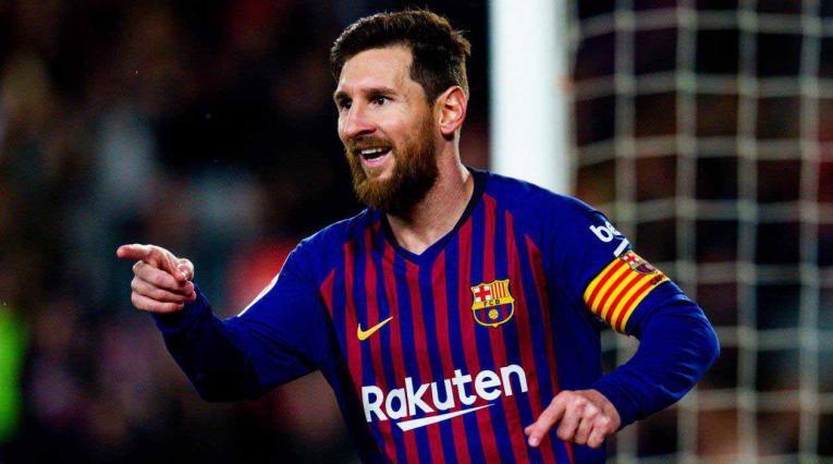 Lionel Messi, jugador del Barcelona