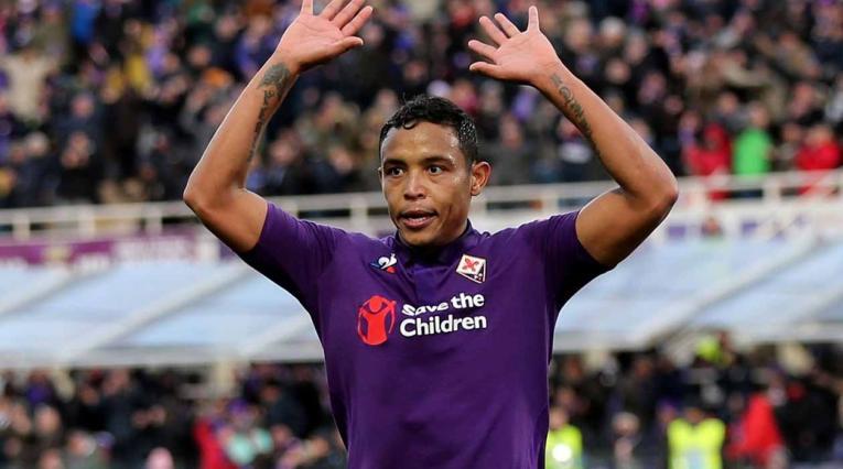 Luis Fernando Muriel, jugador colombiano que actúa en la Fiorentina