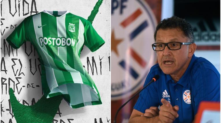 Camiseta de Atlético Nacional y Juan Carlos Osorio