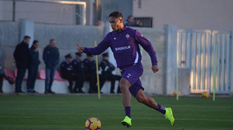 Luis Fernando Muriel, jugador de Fiorentina
