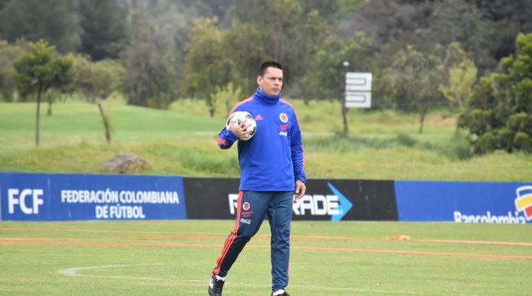 Héctor Cárdenas, técnico selección Colombia sub-17