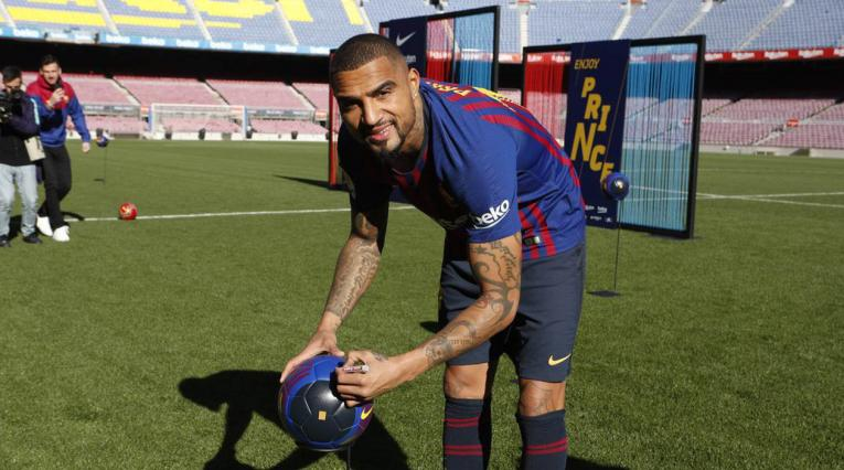 Kevin Prince Boateng, nuevo jugador del Barcelona