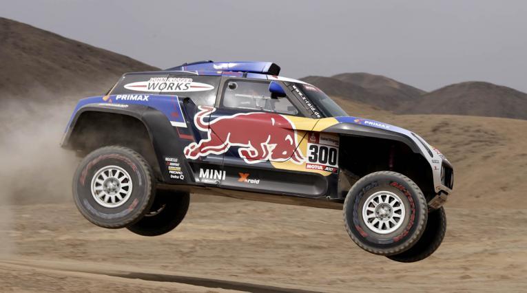 Carlos Sainz, piloto de la escudería Mini