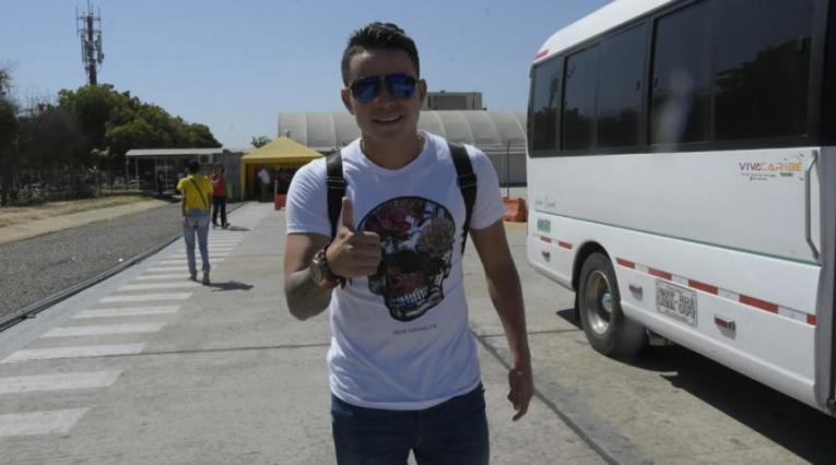 Roger Torres, mediocampista que sería el nuevo fichaje del Junior de Barranquilla