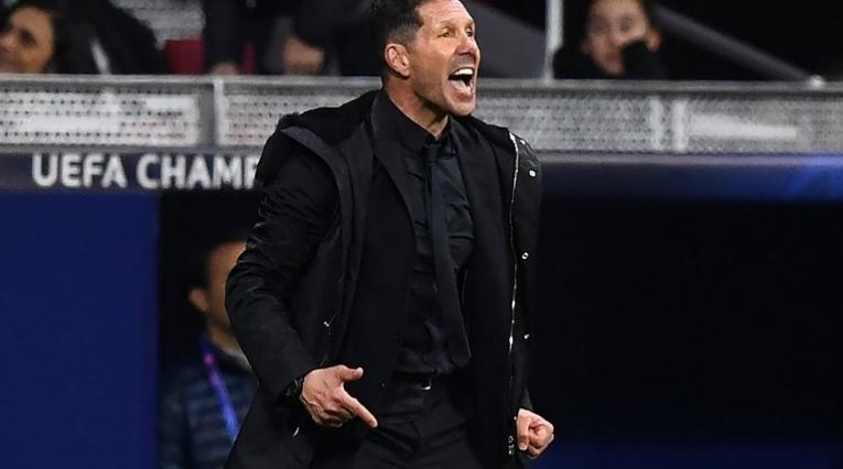 Diego Simeone, director técnico del Atlético de Madrid