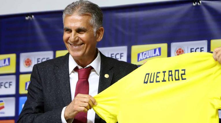 CARLOS QUEIROZ DIRECTOR TECNICO SELECCION COLOMBIA