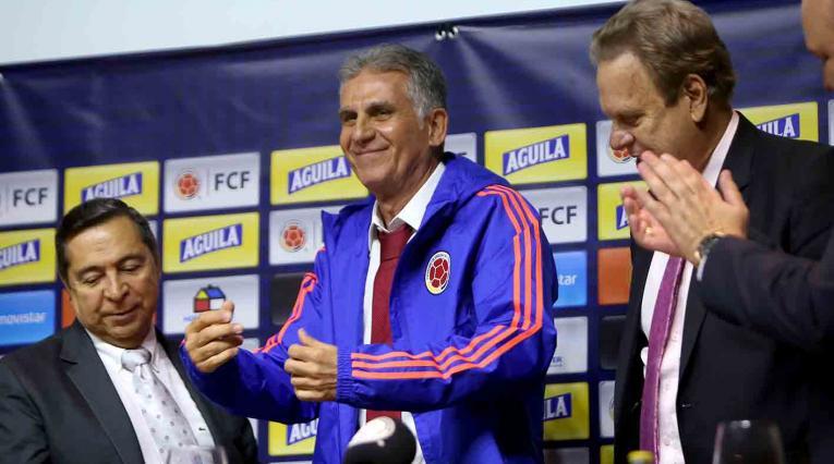 """No puedo garantizar que vamos a ganar la Copa América"""": Carlos Queiroz"""