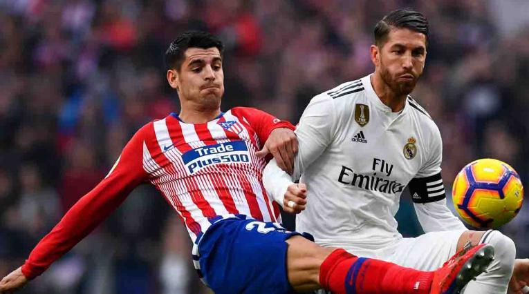Atlético de Madrid vs Real Madrid