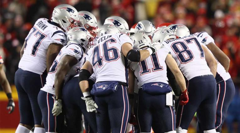 Patriots parten como favoritos para imponerse ante los Rams en el Super Bowl