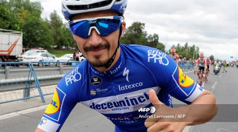 Julian Alaphilippe, ciclista del Deceunick-Quick Step