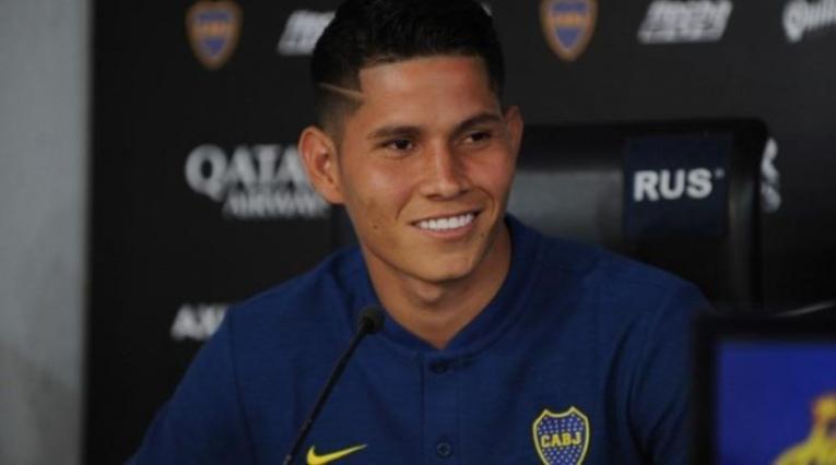 Jorman Campuzano, jugador de Boca Juniors