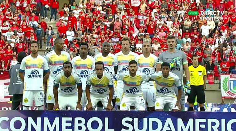 El Chapecoense regresó a la Sudamericana después de su última participación, en 2017