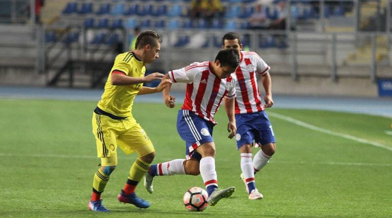 Selección Colombia Sub 17 en el Sudamericano 2017