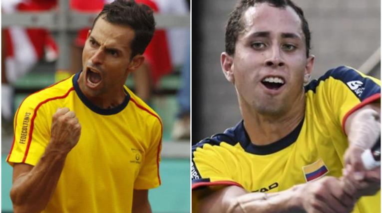 Colombia apuesta por Giraldo y Galán para vencer a los hermanos suecos Ymer