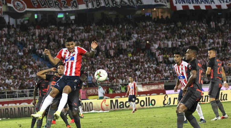 Junior y Medellín