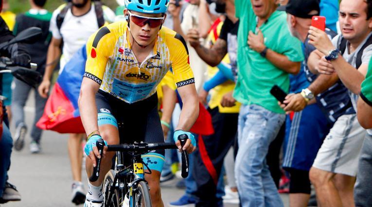 Miguel Ángel López, campeón del Tour Colombia