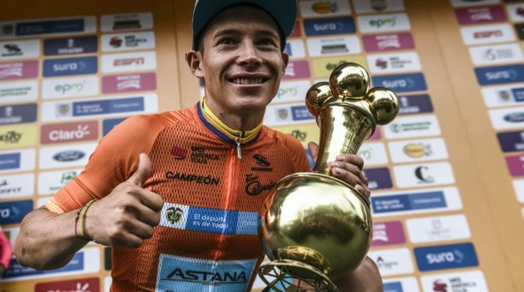 Miguel Ángel López - campeón del Tour Colombia
