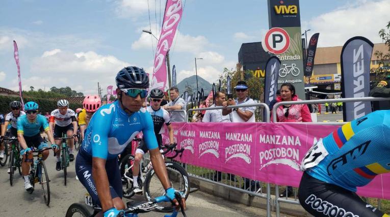 Nairo Quintana en el Tour Colombia 2.1