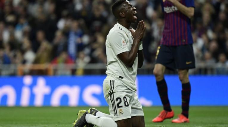 Vinicius, delantero del Real Madrid